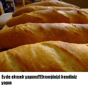 Evde ekmek yapımı.Ekmeğinizi evde kendiniz yapmaya ne dersiniz?ve sağlıklı bir şekilde içinize sinerek yiyeceğiniz ekmek tarifi
