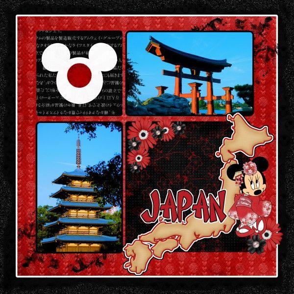Japan - MouseScrappers - Disney Scrapbooking Gallery