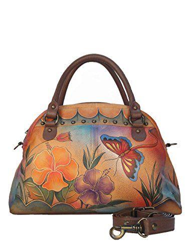 Anuschka - Handbemalte *Echtleder Handtasche* -BUTTERFLY- Satchel Clutch Tasche Anuschka http://www.amazon.de/dp/B00OBCO2AW/ref=cm_sw_r_pi_dp_F6ouub1JKVJYC