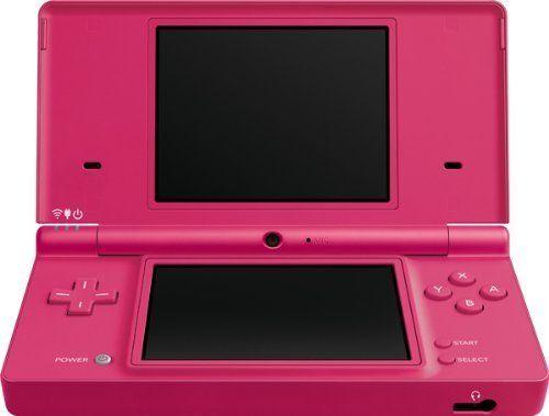Nintendo DSi - Pink (045496718794) Includes: Nintendo DSi System, Nintendo DSi AC Adapter, Nintendo DSi Stylus (2), Easy Start Guide, Manuals (Basic