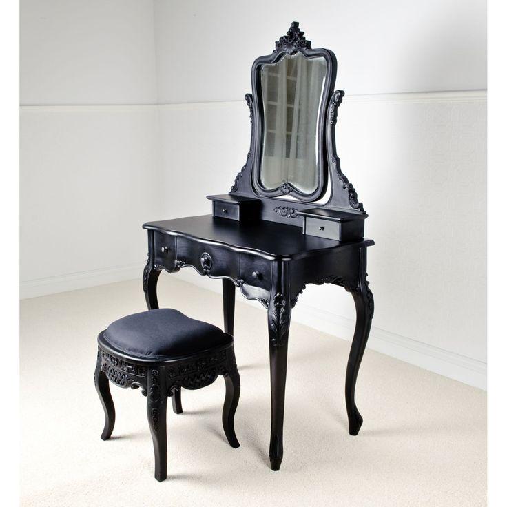17 best ideas about black vanity table on pinterest