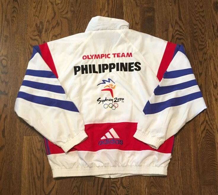 Team Philippines Jacket! 100% Polyester. | eBay!