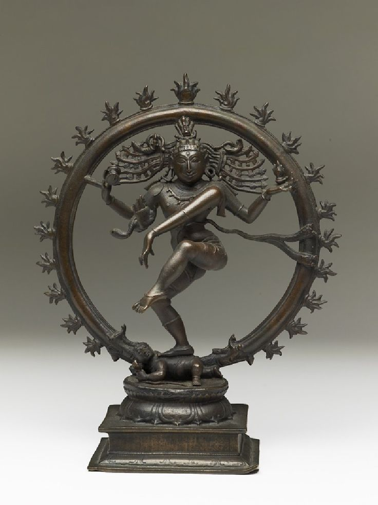 Figure of Shiva as Nataraja, Lord of the Dance (front) : Ashmolean Museum