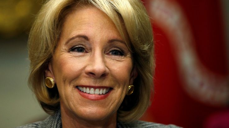Jefferson Middle School Academy responded to DeVos's claim that its teachers are in 'receive mode.'