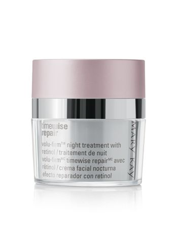 TimeWise Repair® Volu-Firm™ Night Treatment With Retinol  Reveal youthful-looking skin with retinol.
