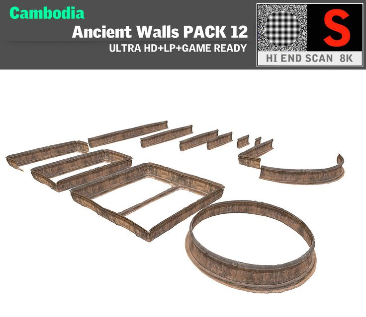 acient walls pack 12 max
