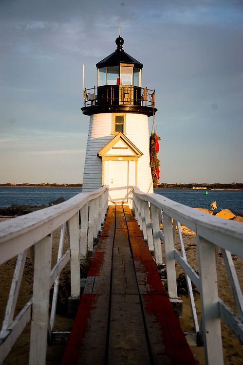 Brant Point #Lighthouse - Nantucket, #Massachusetts - http://dennisharper.lnf.com/