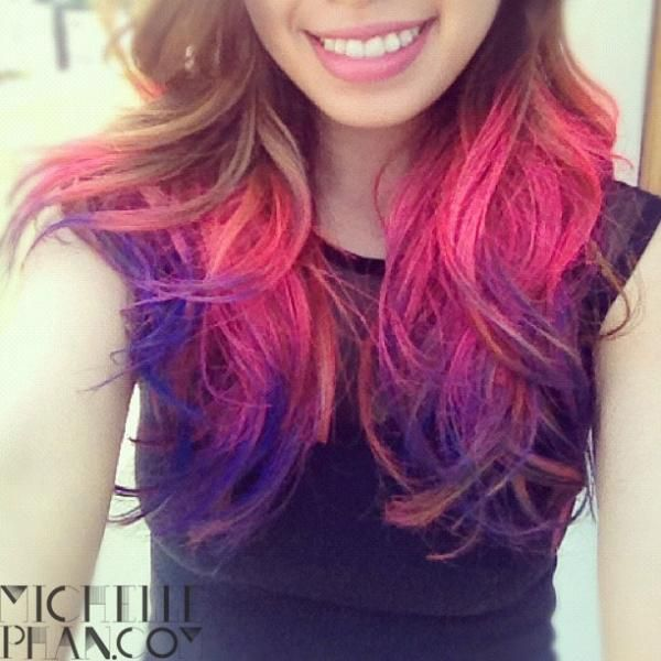 Michelle Phan Ombre Hair