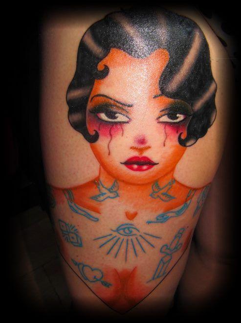 #tattoo #eastsidetattoonl #legtattoo