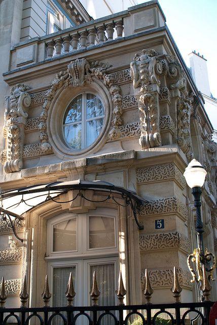 Hotel Meunier, Private Mansion, 5 avenue Van-Dyck, Paris XVIII