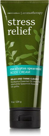 Eucalyptus Spearmint Body Cream - Aromatherapy - Bath & Body Works  I love everything in this line. This scent is my favorite B&B.