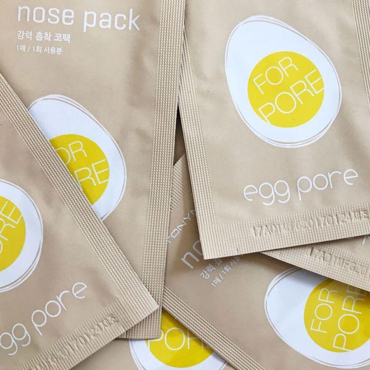 Tonymoly Egg Pore Nose Pack 7 Strips
