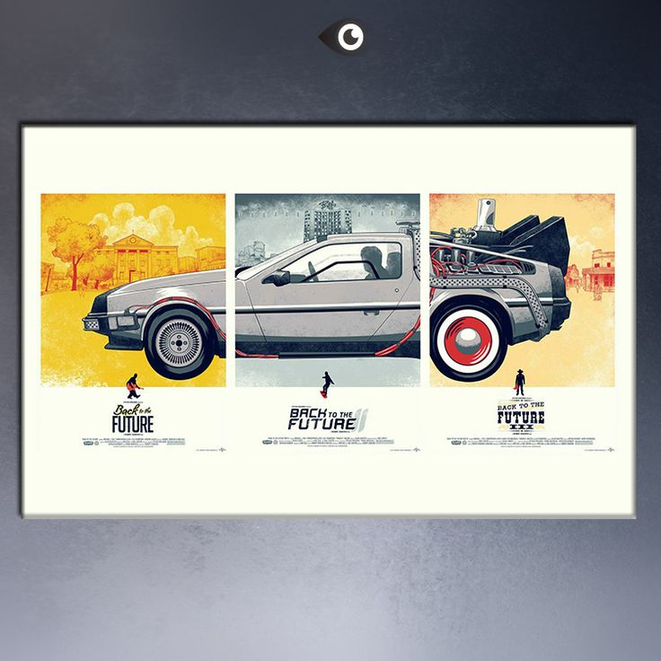 Free Shipping Back To The Future 1 2 3 Car Movie Classic Wall  Pictures Poster pint on canvas-in Painting & Calligraphy from Home & Garden on Aliexpress.com | Alibaba Group