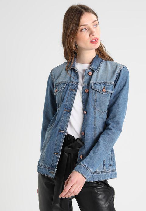 92fb34e25068 Vêtements Noisy May Tall NMOLE JACKET - Veste en jean - medium blue denim  denim bleu