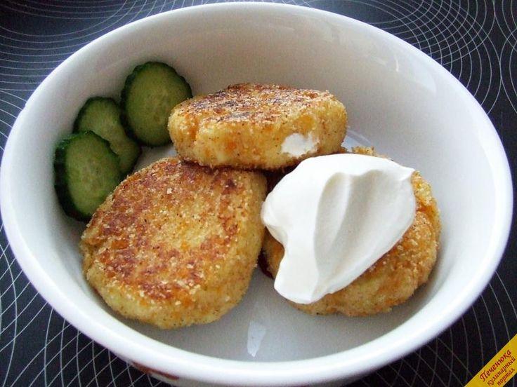 Котлеты из картофельного пюре (пошаговый рецепт с фото)