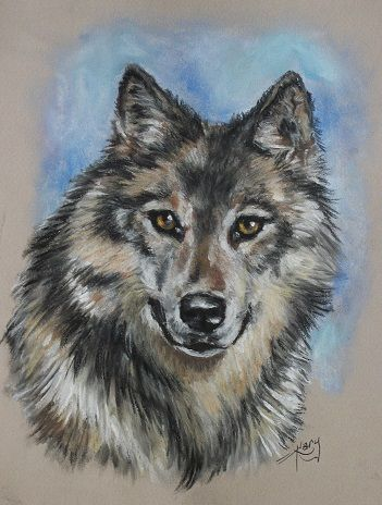 Wolf by Kary