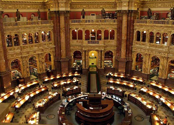 Library of Congress in Washington D.C.