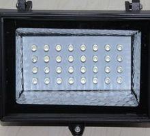 Solaire Motion Sensor LED Lumière Crue IP65 60LED Lampe Solaire PIR Motion Sensor Wall light, Éclairage De Sécurité Solaire pour Jardin Maison cour