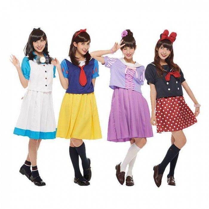 Les uniformes d'écolières japonaises style Disney !