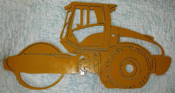 Rouleau compresseur métal personnalisé par LAZYKWroughtIron sur Etsy