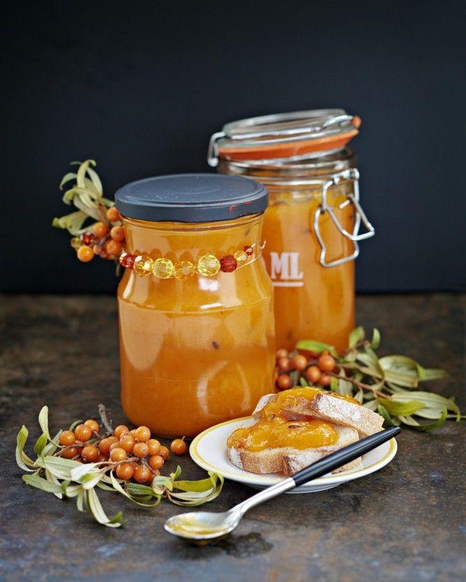 Tyrni-porkkana-aprikoosisose