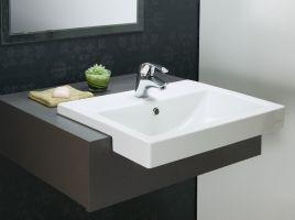 Zen Semi Recessed Basin 550x430mm