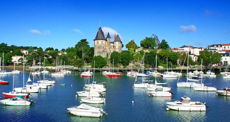 Port de Pornic (Loire-Atlantique, Pays de la Loire, FRANCE)