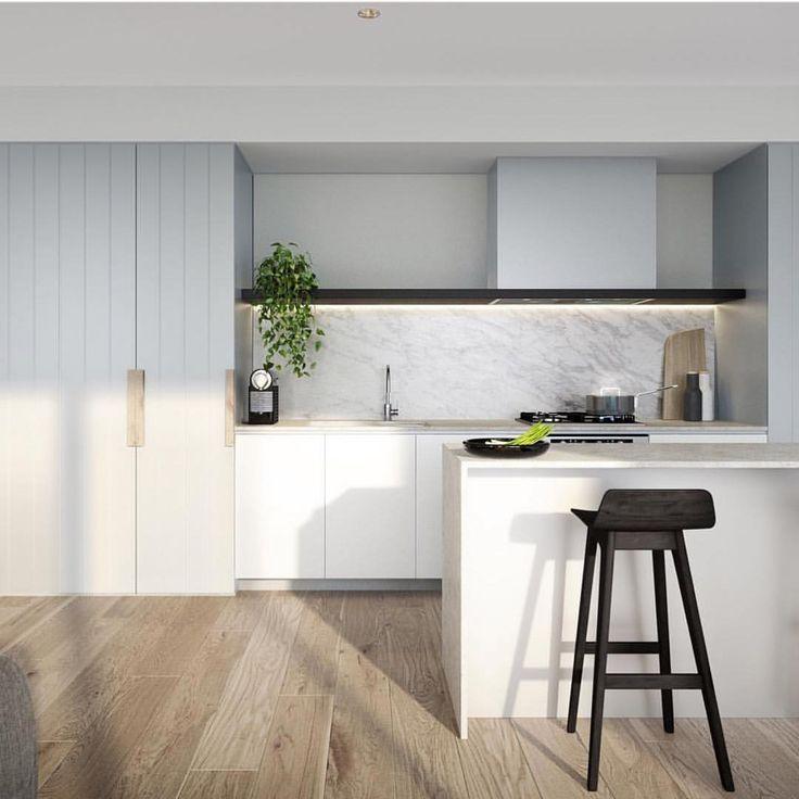 "586 Likes, 7 Comments - Dot➕Pop Interiors - Eve Gunson (@dotandpop) on Instagram: ""Dreamy Kitchen by @dko_architecture so much detail, in love! Render @binyan.studios In…"""