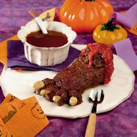 feet of meat halloween party recipeshalloween - Halloween Meat Recipes