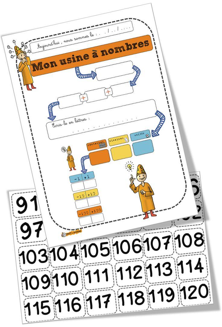 Affichages math CP-CE1 - Bout de gomme