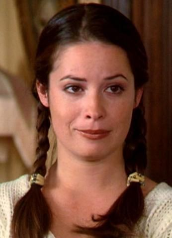 Holly as Piper in CHARMED