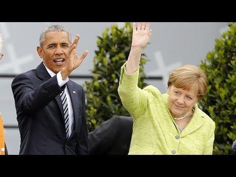 Evangelischer Kirchentag in Berlin: Obama und Merkel beschwören Glauben ...