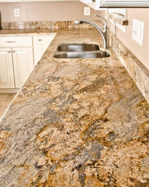 White Kitchen Cabinets Yellow River Granite Countertops Backsplash