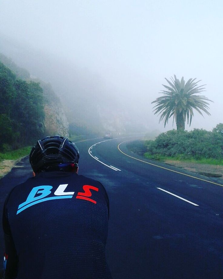 Misty riding around the cape peninsula