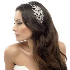 Image result for wedding hair bands