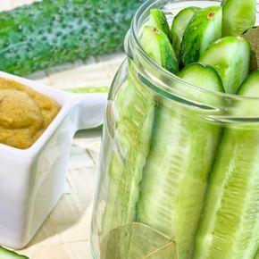 Ogórki w zalewie musztardowej to kolejny przepis na przepyszny dodatek. Jeśli wypróbowałaś już ogórki curry, ogórki małosolne...