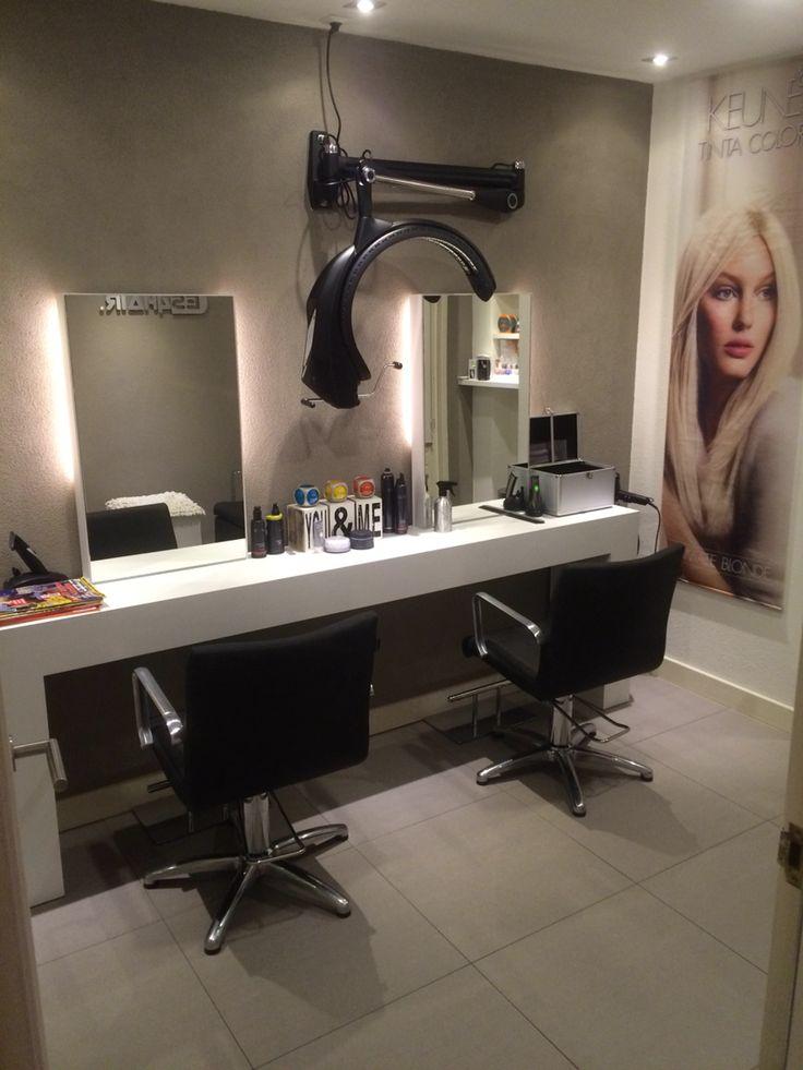 Kapsalon inrichting van Es4Hair in Nijverdal. #kapsalom #inrichting #salon #Nijverdal #kapper