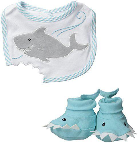 Baby-Aspen-Bib-and-Booties-Gift-Set-Chomp-and-Stomp-Shark