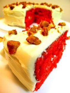 the southern belle: red velvet cake Recipe