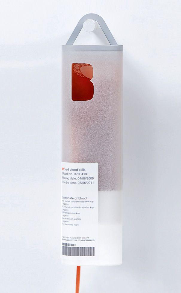 Blood packaging Förpackad -Blogg om Förpackningsdesign, Förpackningar, Grafisk Design - CAP&Design