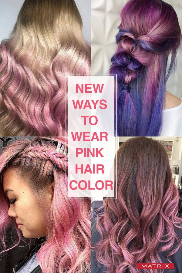 15 New Ways To Wear Pink Hair Color Hair Color Pink Pink Hair Spray Matrix Hair Color
