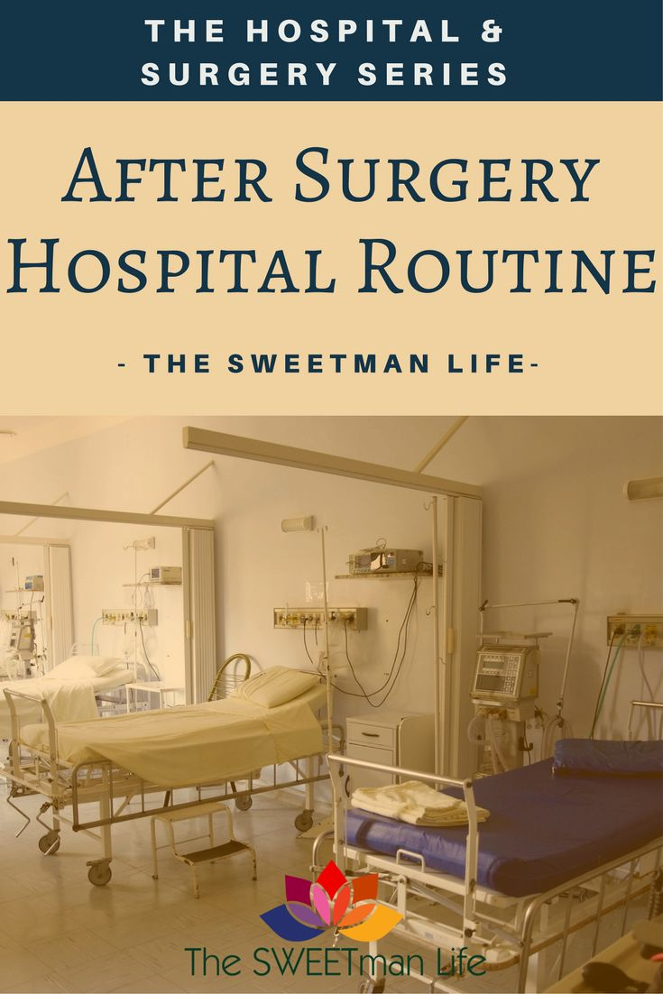 Hospitals, surgery, doctors and recuperation. guides from a practiced patient. Surgery and recovery post series and checklists.