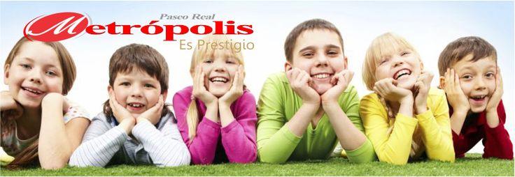 En el Paseo Real Metrópolis los niños son importantes