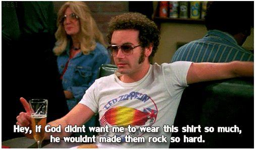 As always Steven Hyde is right...