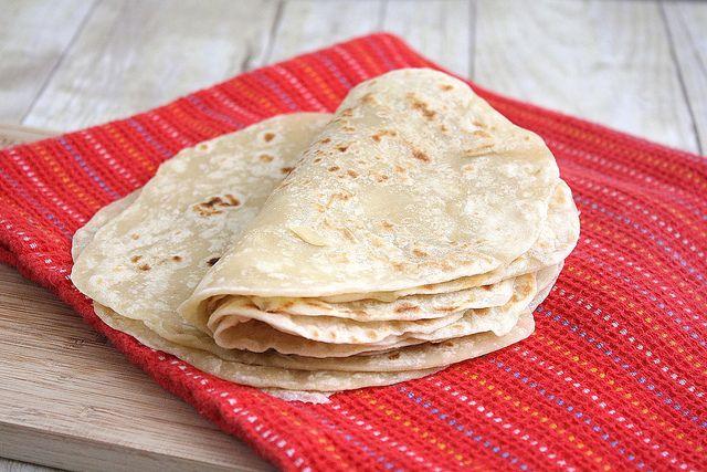 Homemade Flour Tortillas | Recipes to Make or Save | Pinterest