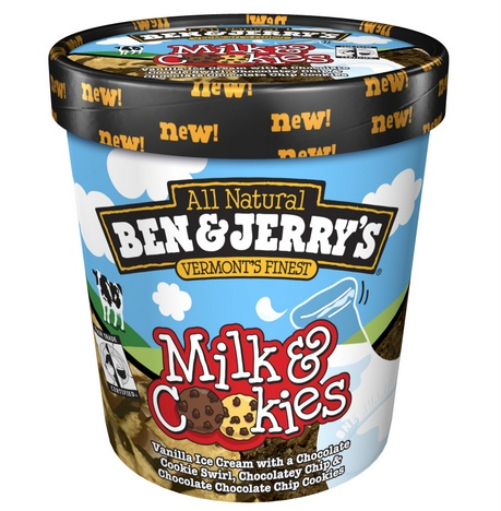 Besides Luke, I think Ben & Jerry are the loves of my life. (Milk & Cookies is my favorite flavor, thus far!)
