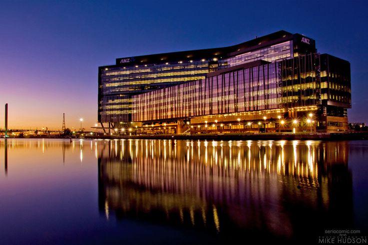 ANZ Docklands – Dusk - melbourne #victoriaharbour