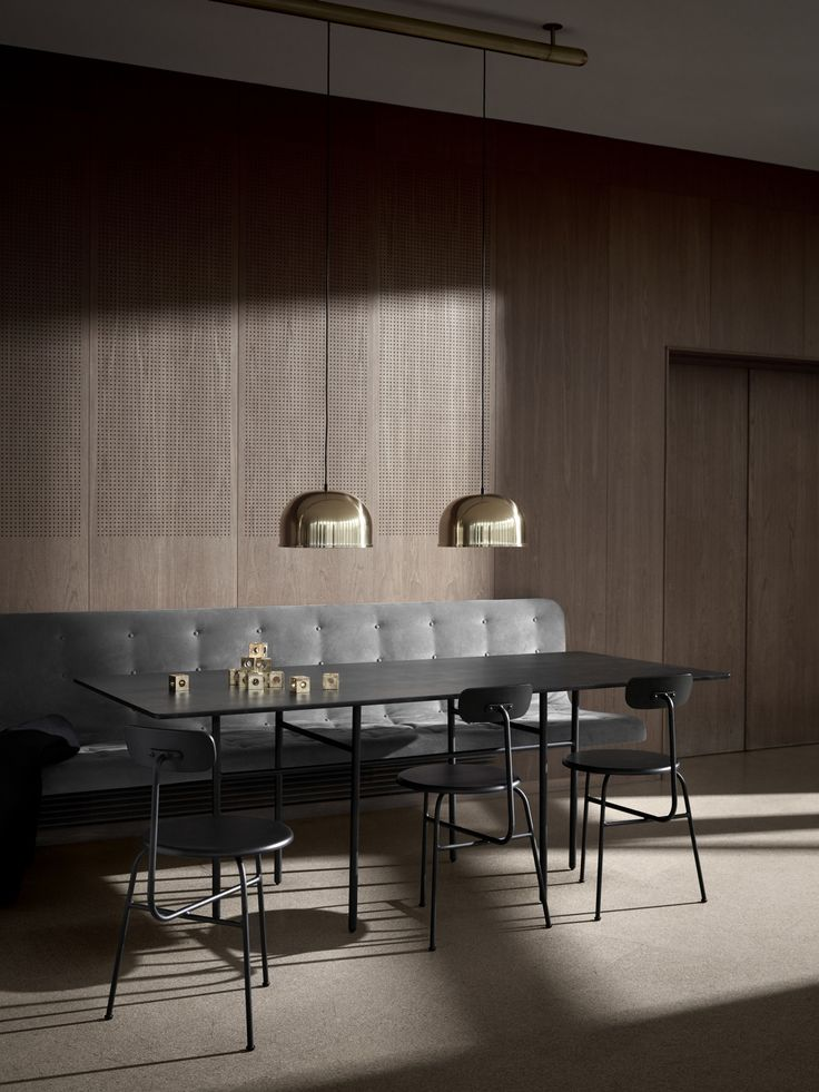 Menu Snaregade Rectangular Table By Norm Architects. This Is The Kind Of Dining  Room Iu0027m Dreaming Of. Itu0027s Grown Up, Itu0027s Not Too Feminine And I Love The  ... Part 88
