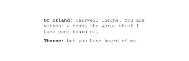 This is my favorite thing.<<<<But... but it's Thorne.... But it's Captain Jack Sparrow.... BUT IT'S THORNE!