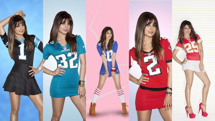 Priyanka Chopra photoshoot for NFL League